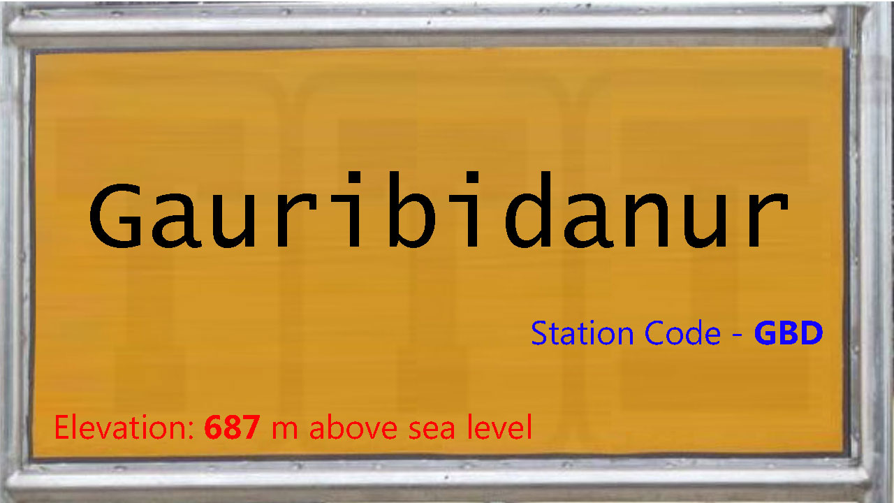 Gauribidanur