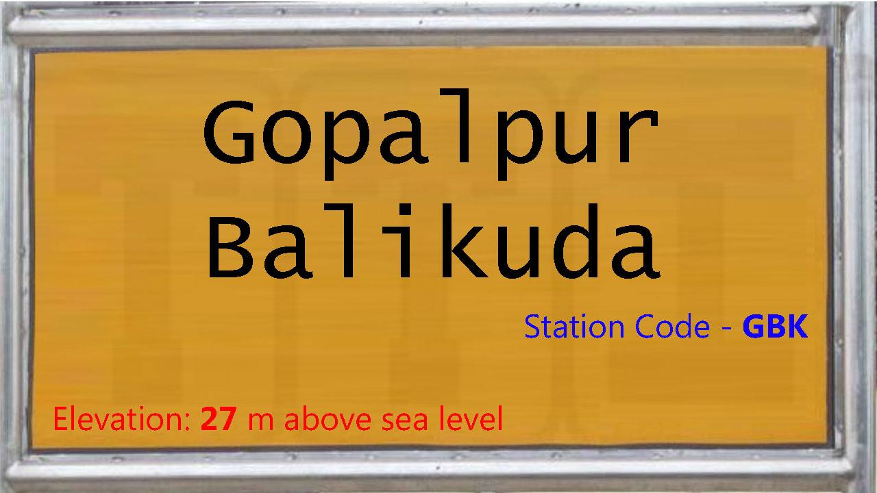 Gopalpur Balikuda PH