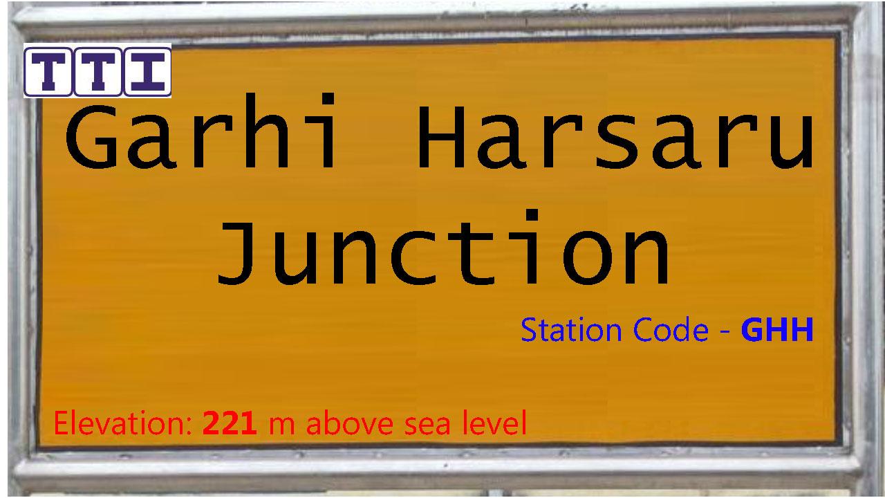 Garhi Harsaru Junction