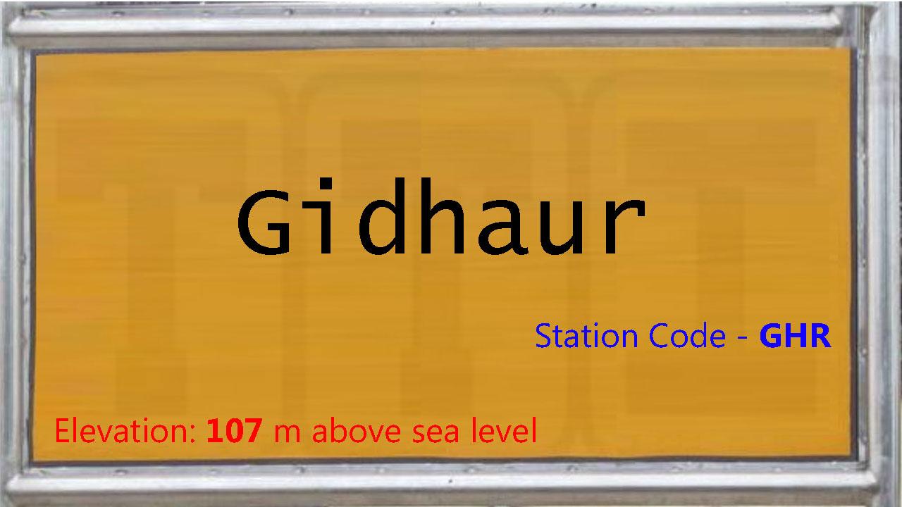 Gidhaur