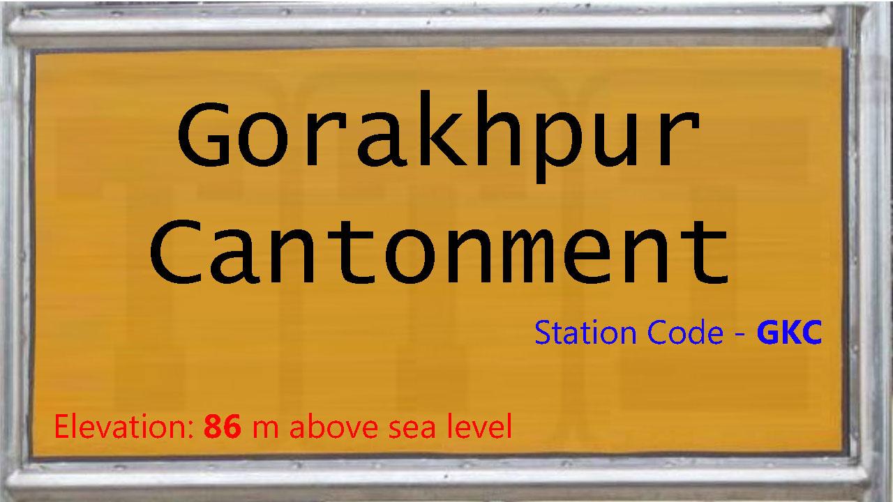 Gorakhpur Cantonment