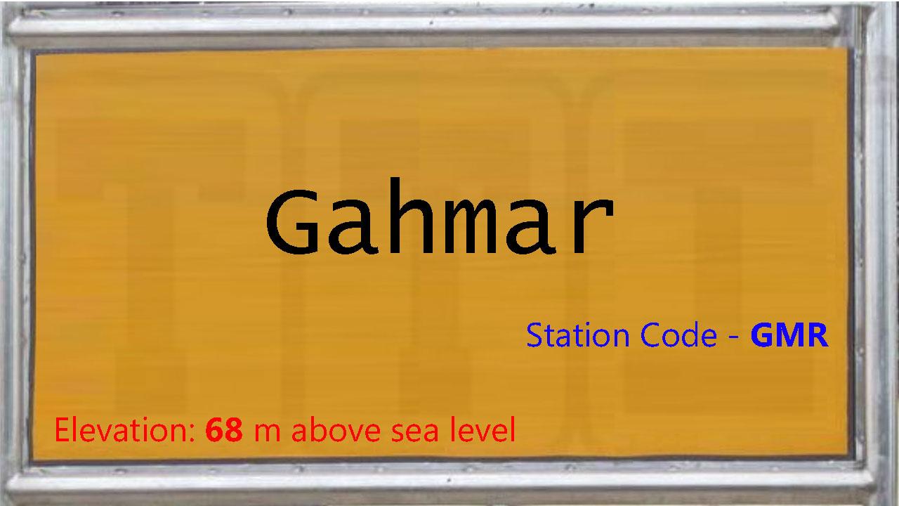 Gahmar