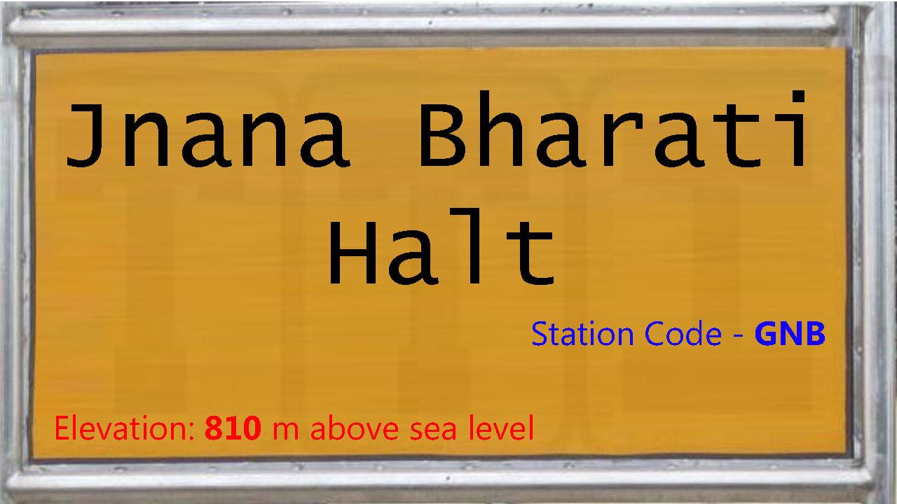 Jnana Bharati Halt