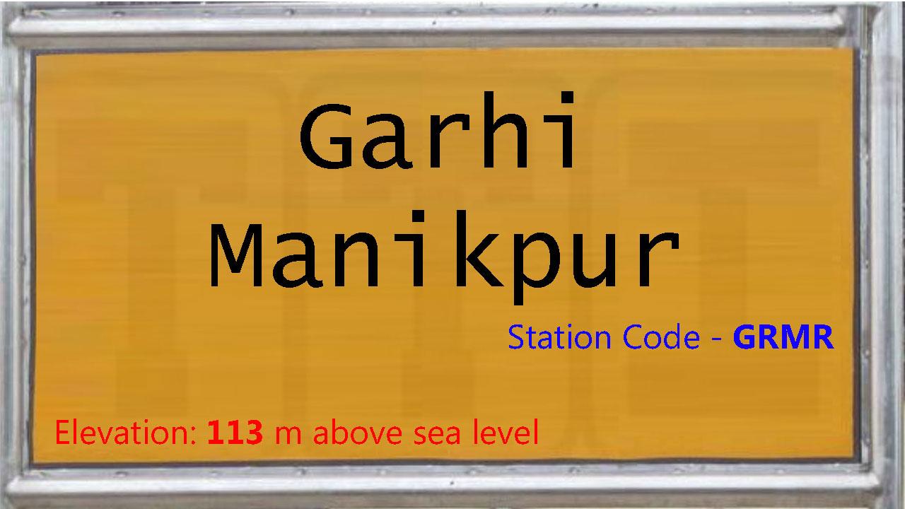 Garhi Manikpur
