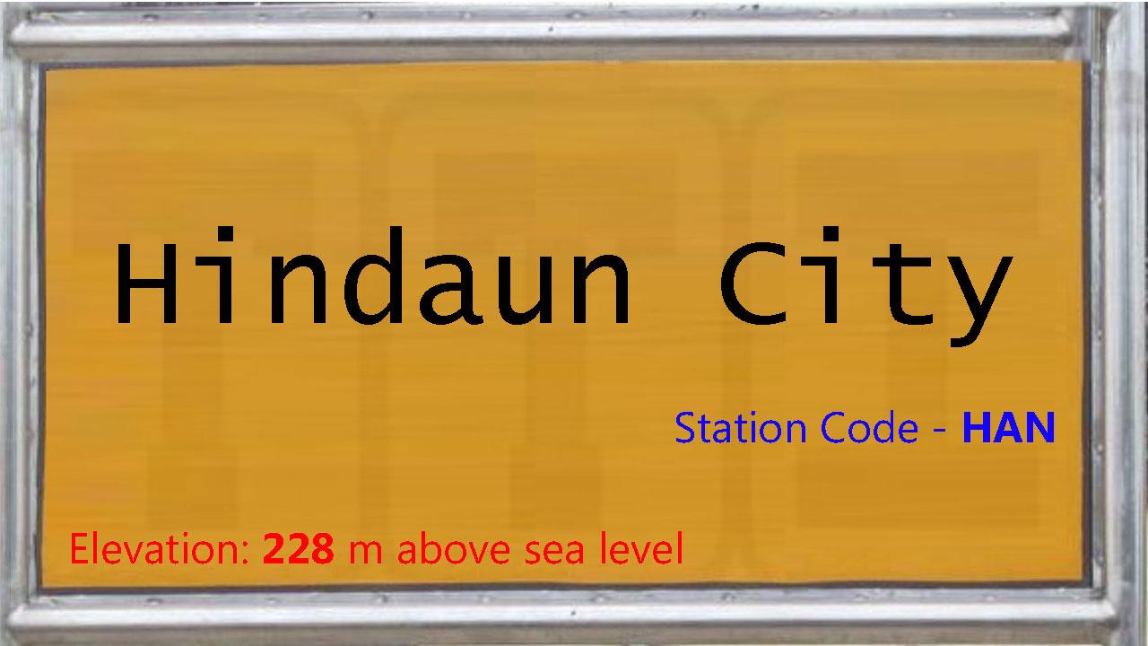 Hindaun City