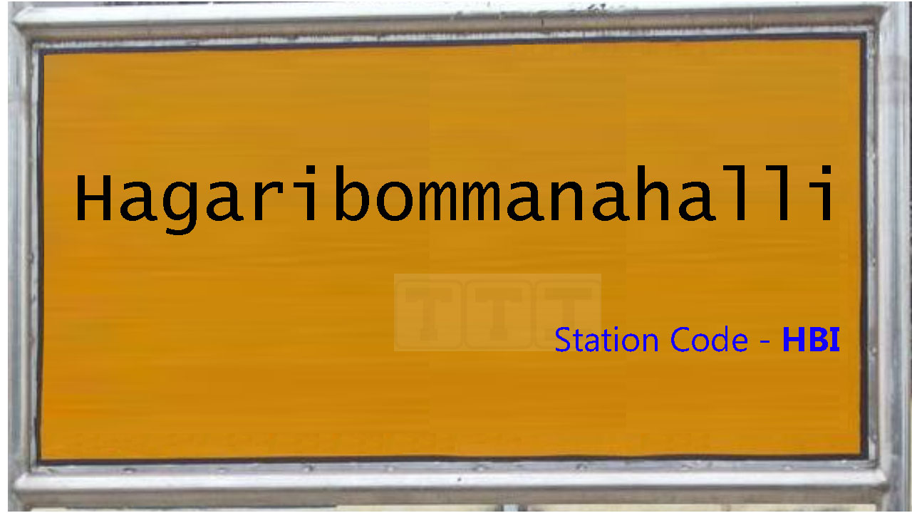 Hagaribommanahalli