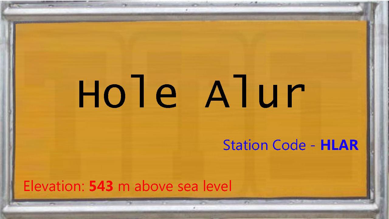 Hole Alur
