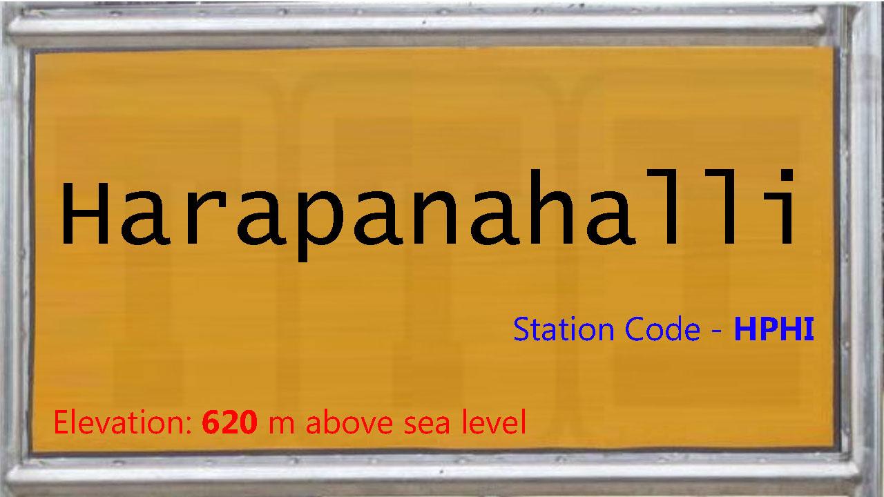 Harapanahalli
