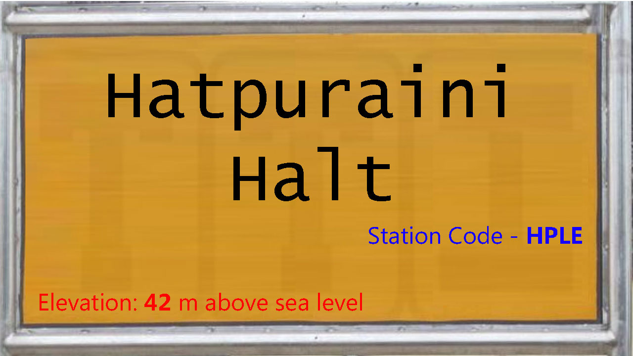 Hatpuraini Halt