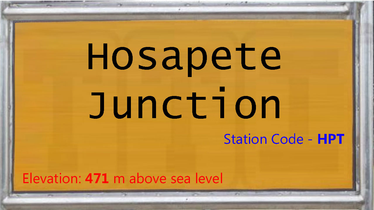 Hosapete Junction