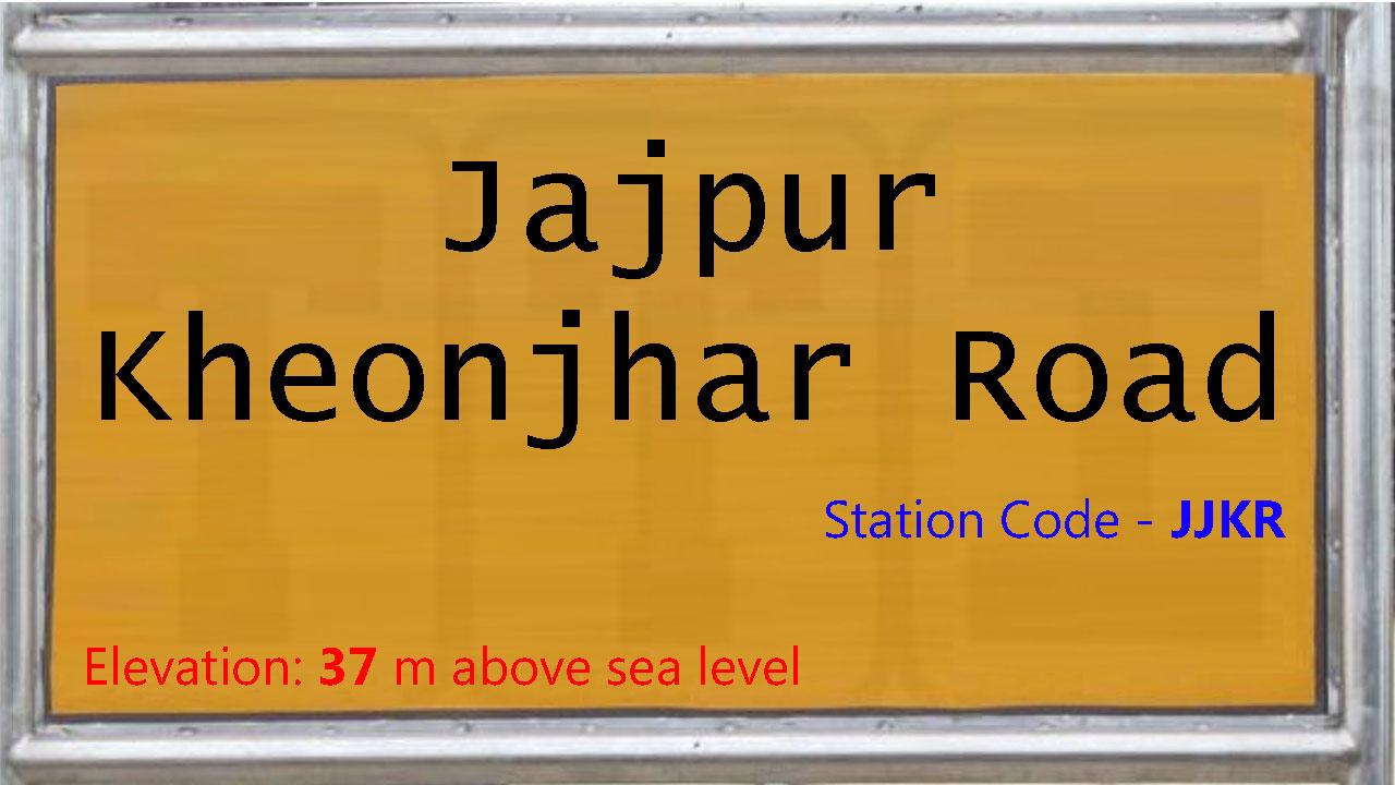 Jajpur Kheonjhar Road
