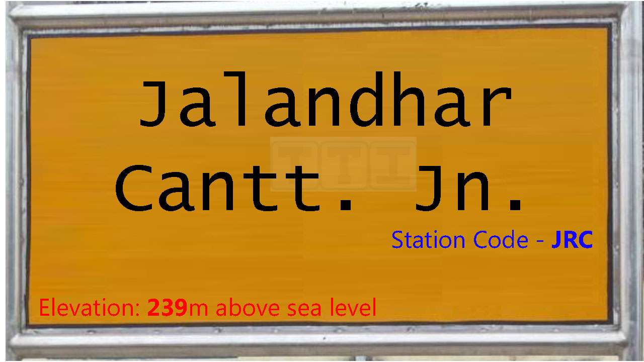 Jalandhar Cantt. Junction