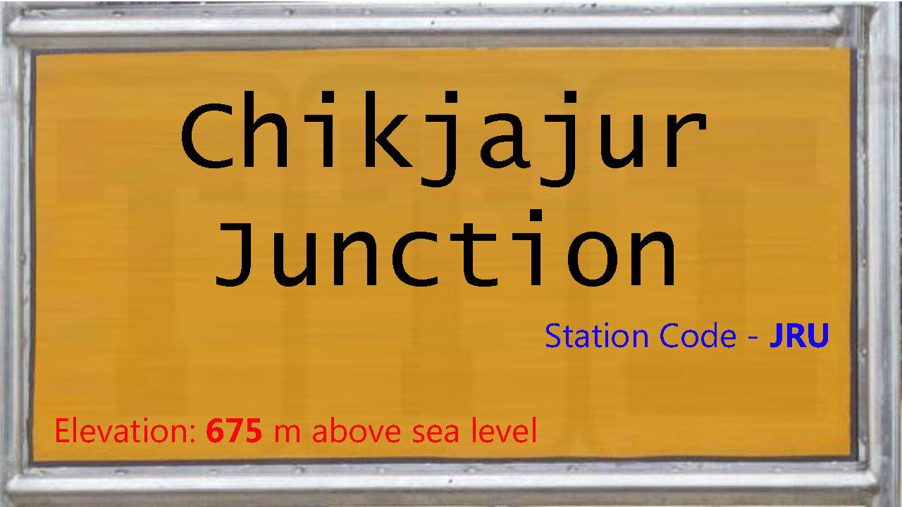 Chikjajur Junction