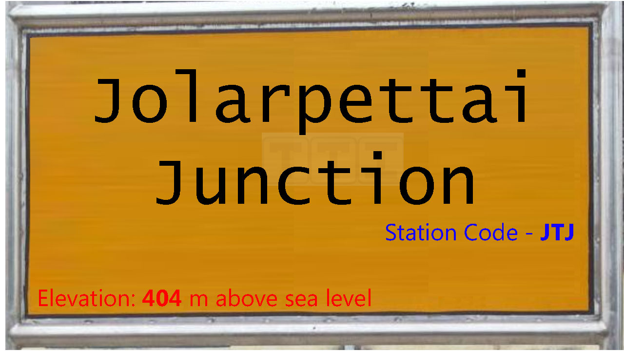 Jolarpettai Junction