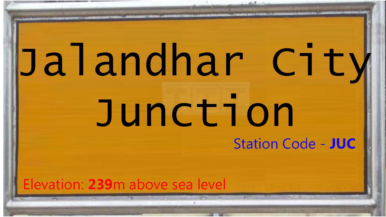 Jalandhar City Junction