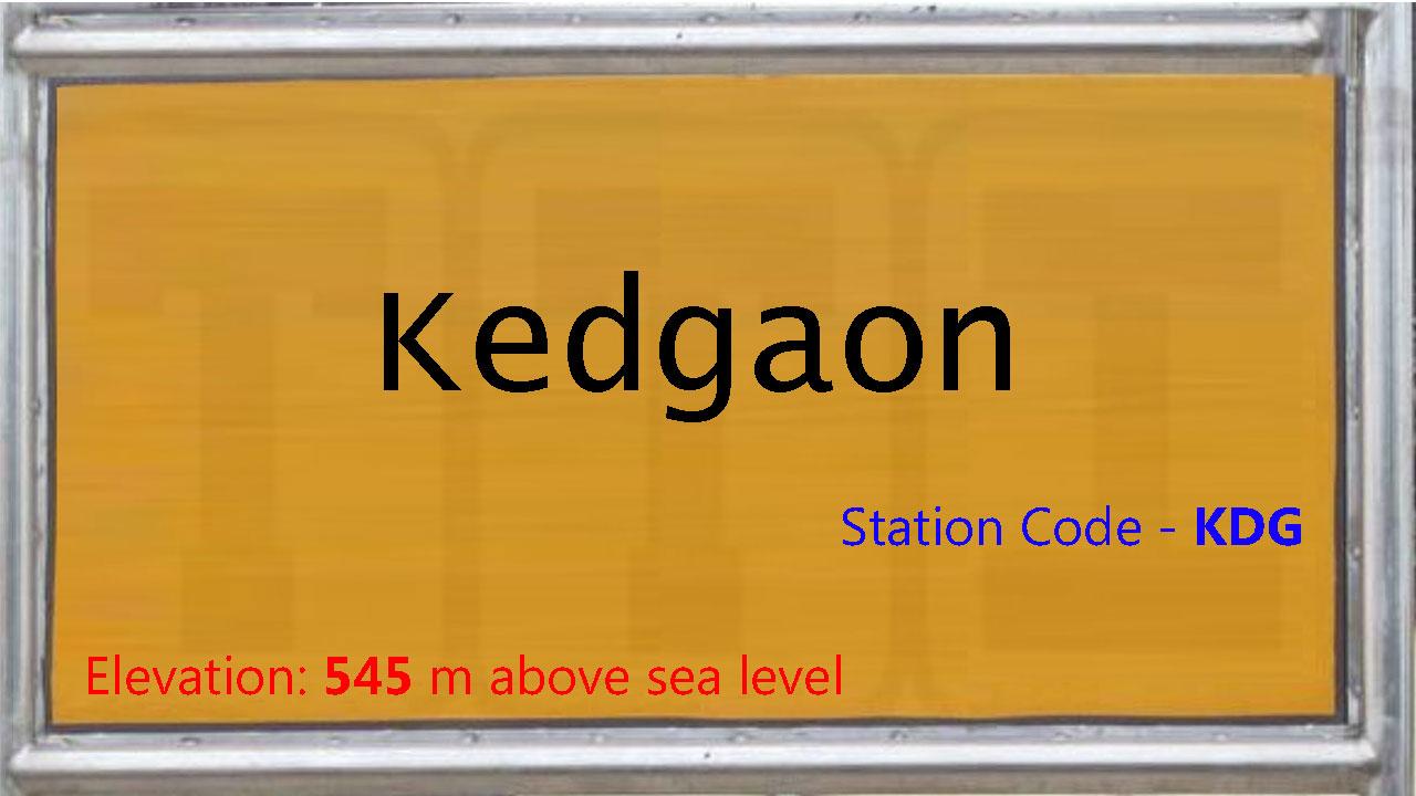 Kedgaon