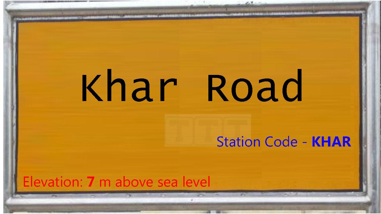 Khar Road