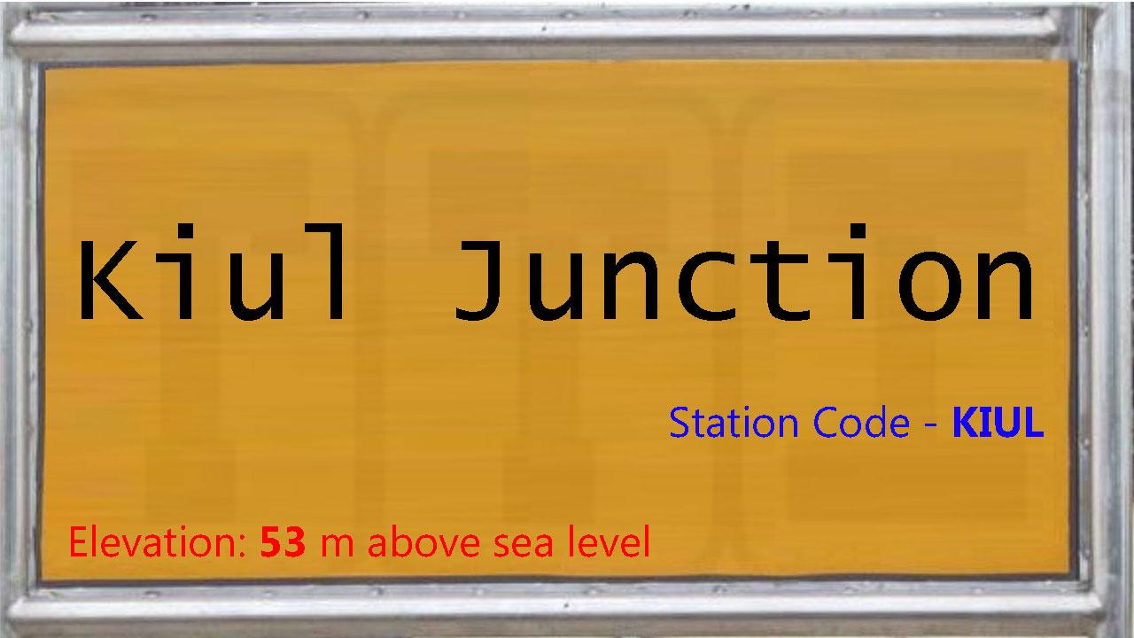 Kiul Junction