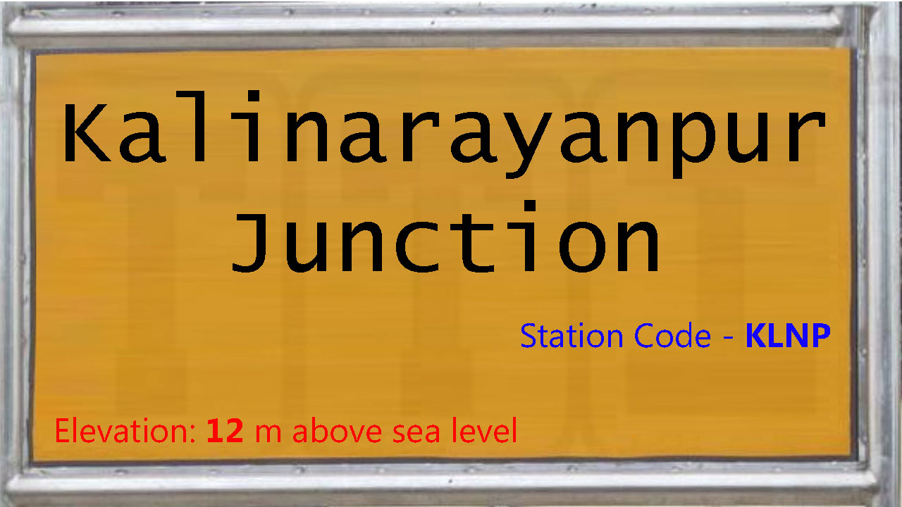Kalinarayanpur Junction