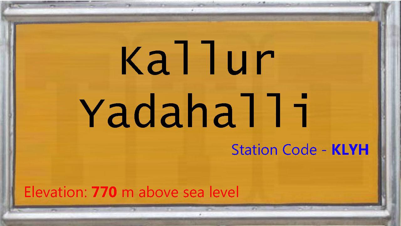 Kallur Yadahalli