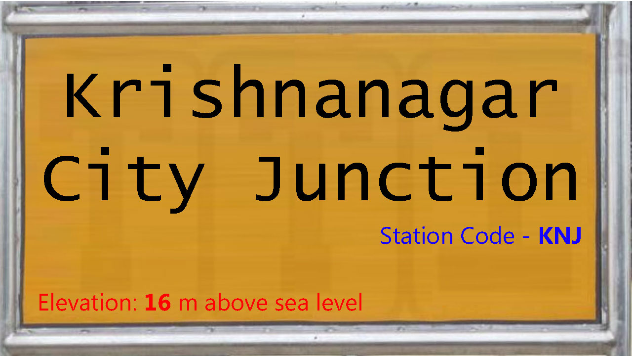Krishnanagar City Junction