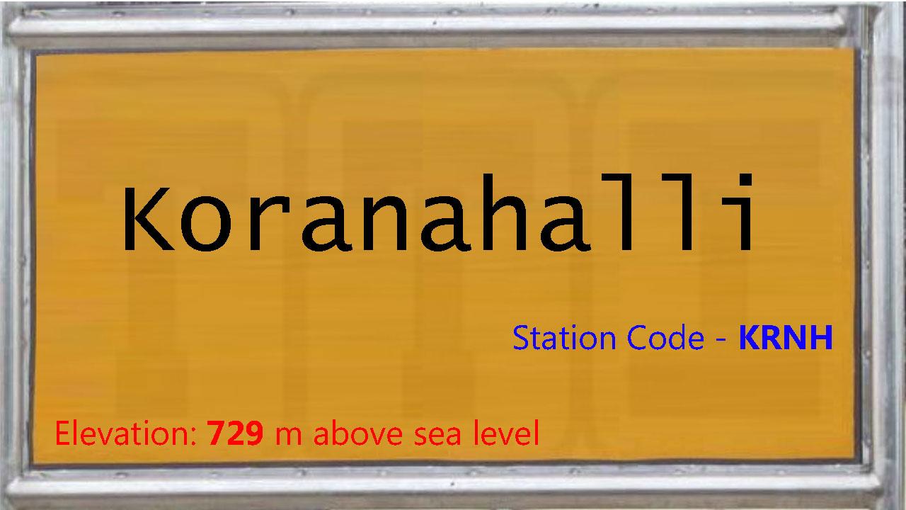 Koranahalli