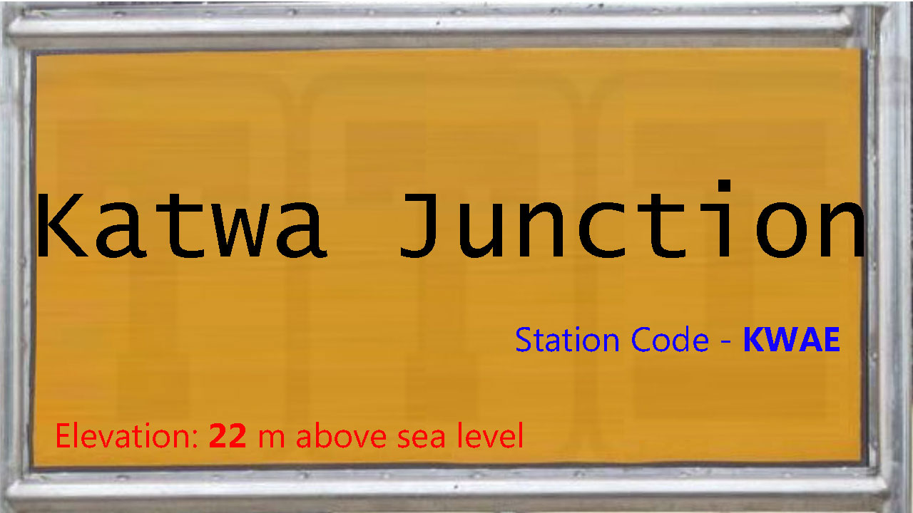Katwa Junction