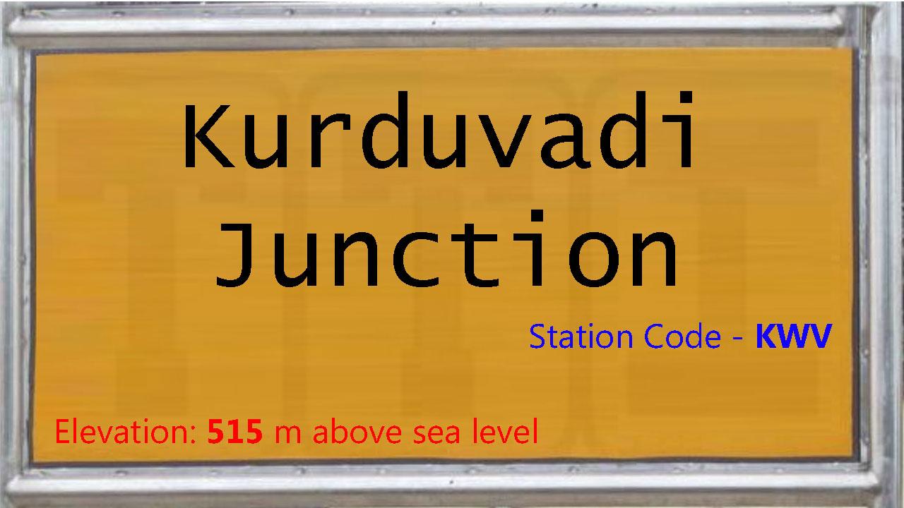 Kurduvadi Junction
