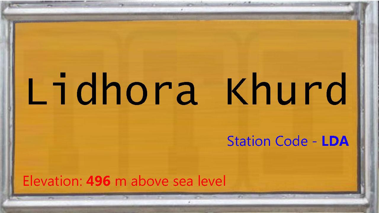 Lidhora Khurd