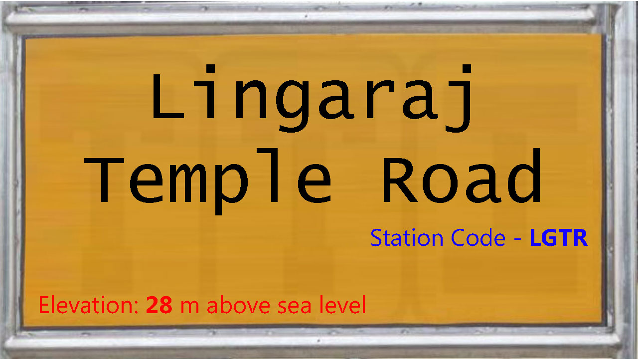 Lingaraj Temple Road