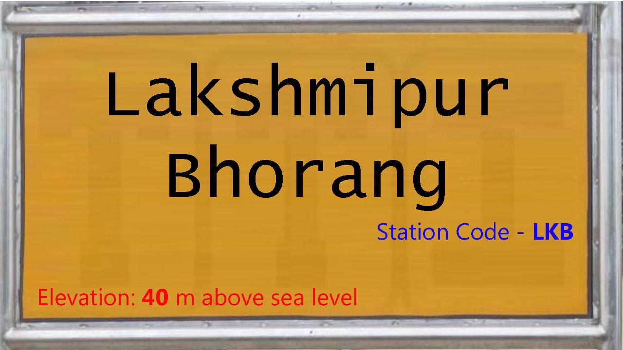 Lakshmipur Bhorang