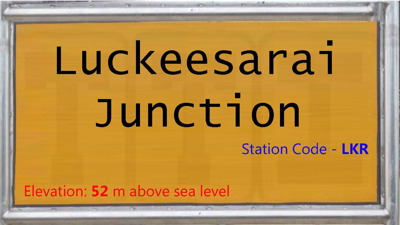 Luckeesarai Junction