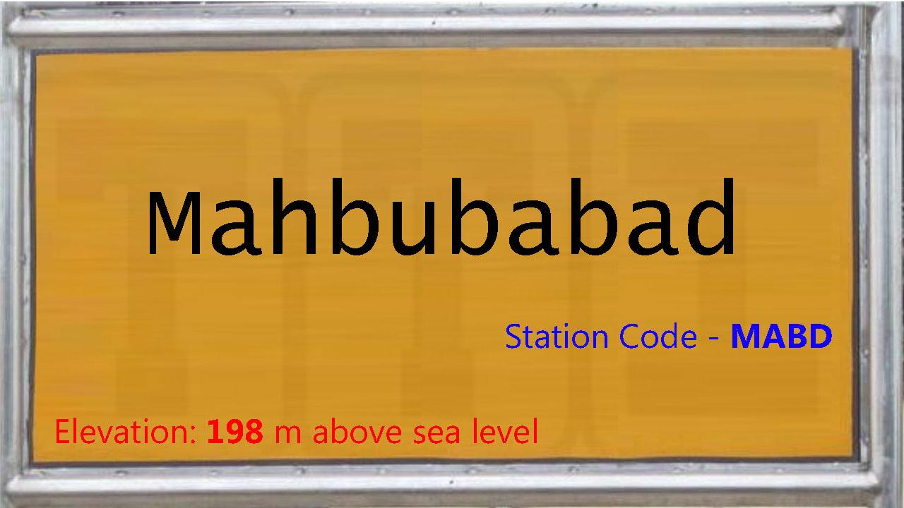 Mahbubabad