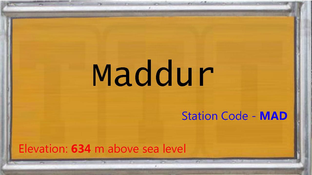 Maddur
