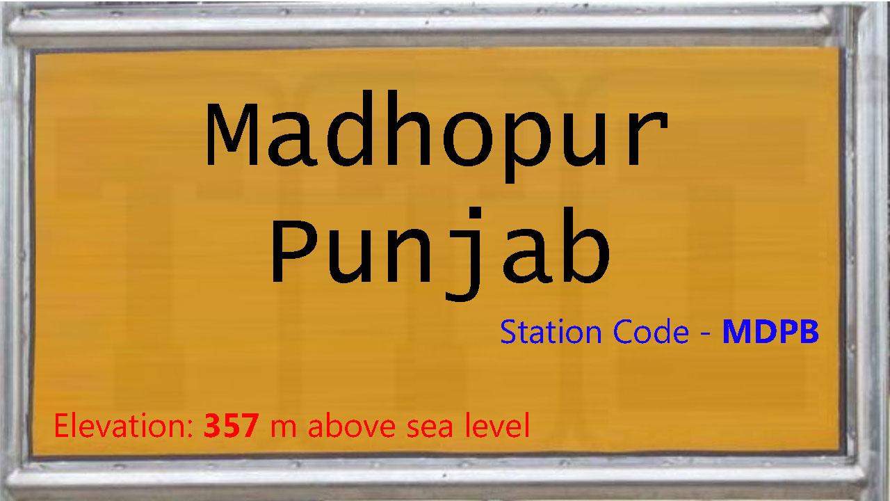 Madhopur Punjab