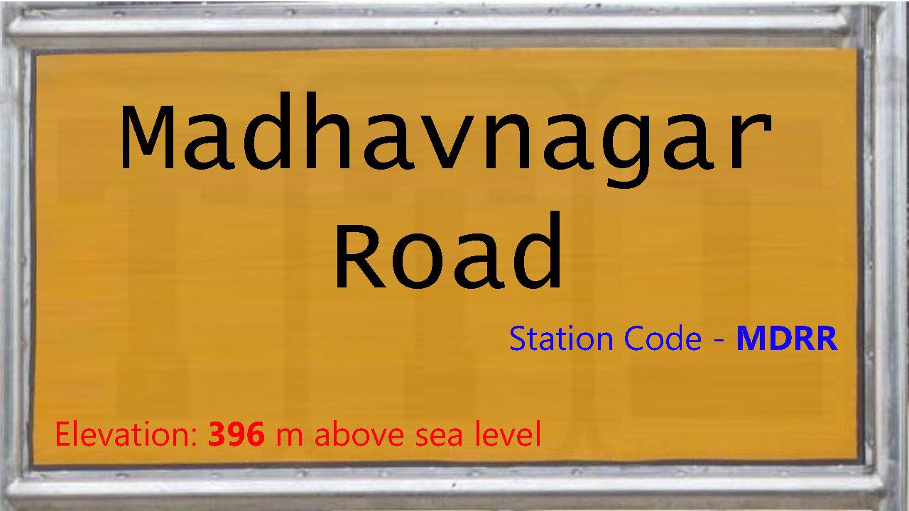Madhavnagar Road