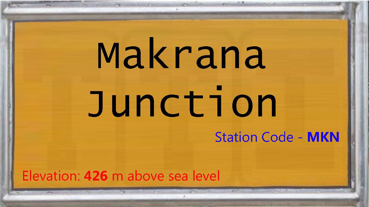 Makrana Junction
