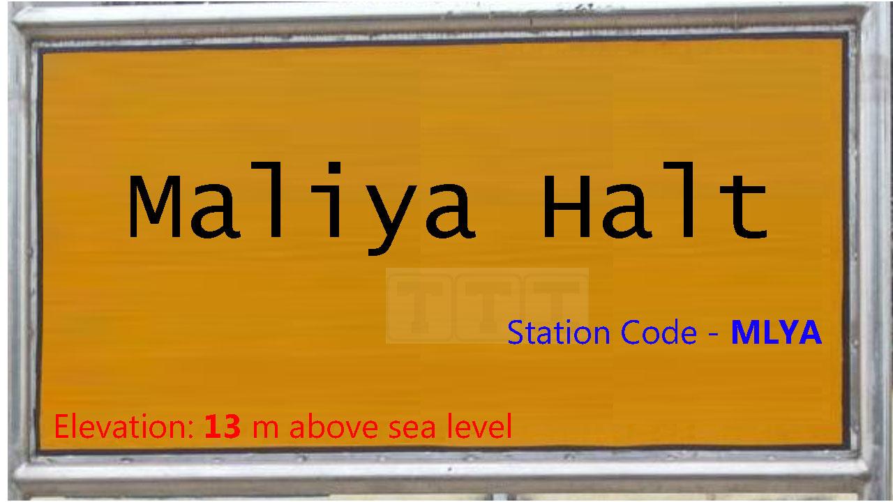 Maliya Halt