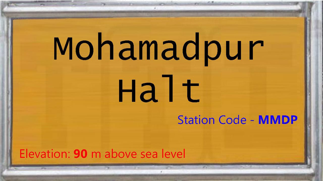 Mohamadpur Halt