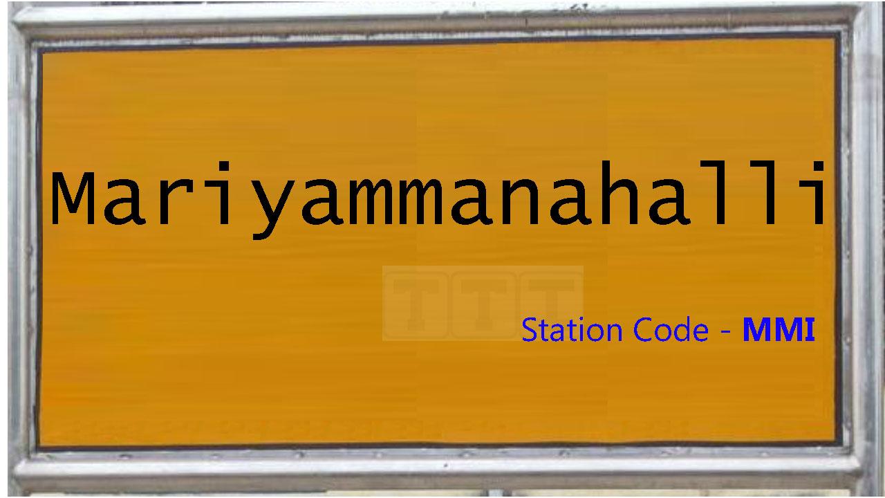 Mariyammanahalli