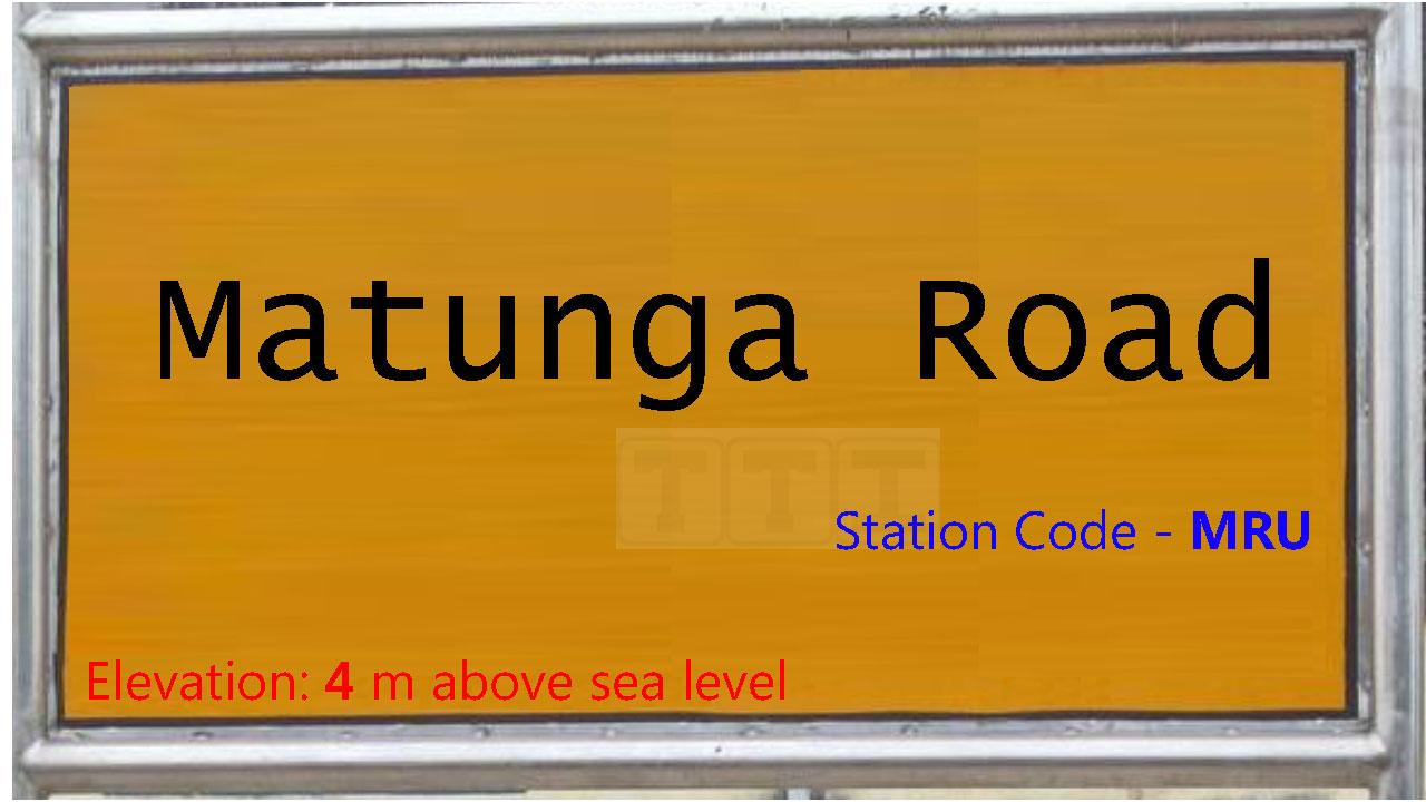 Matunga Road
