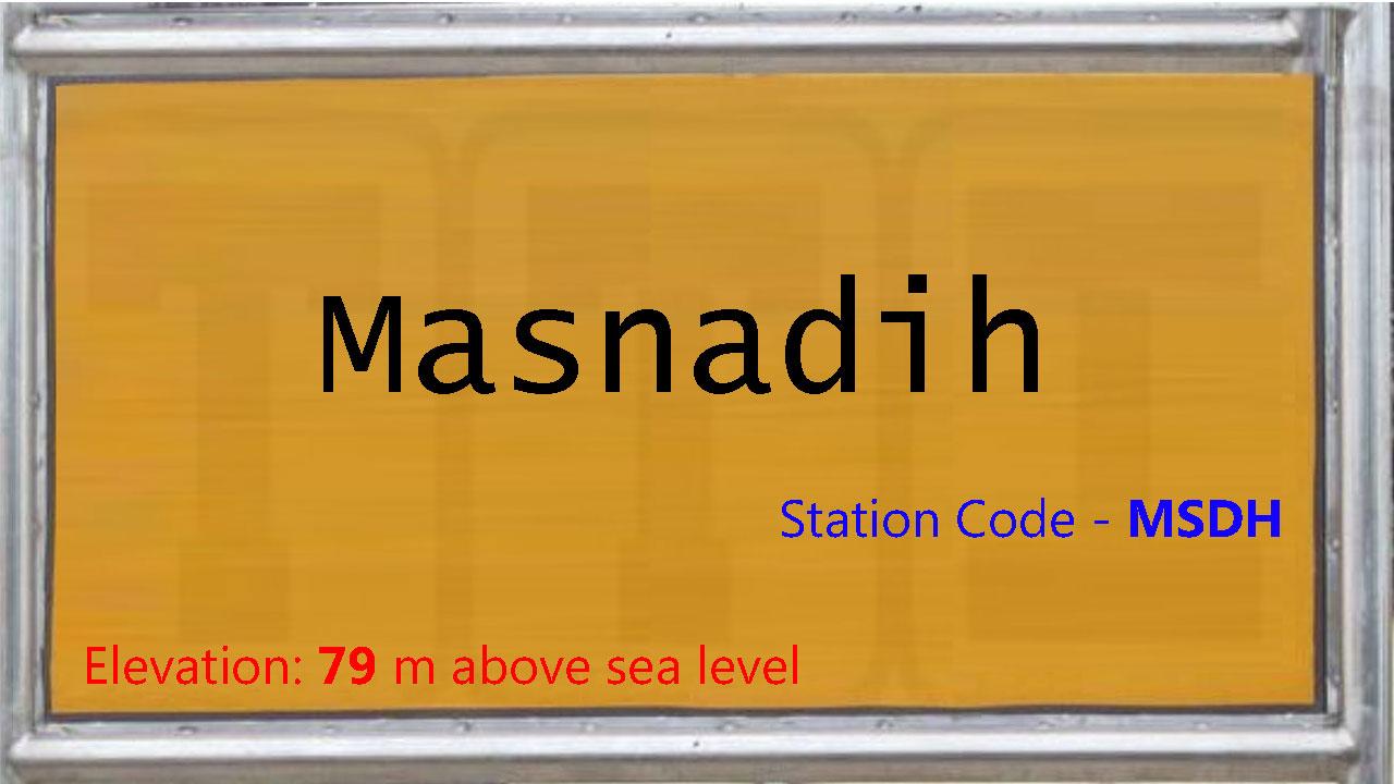 Masnadih