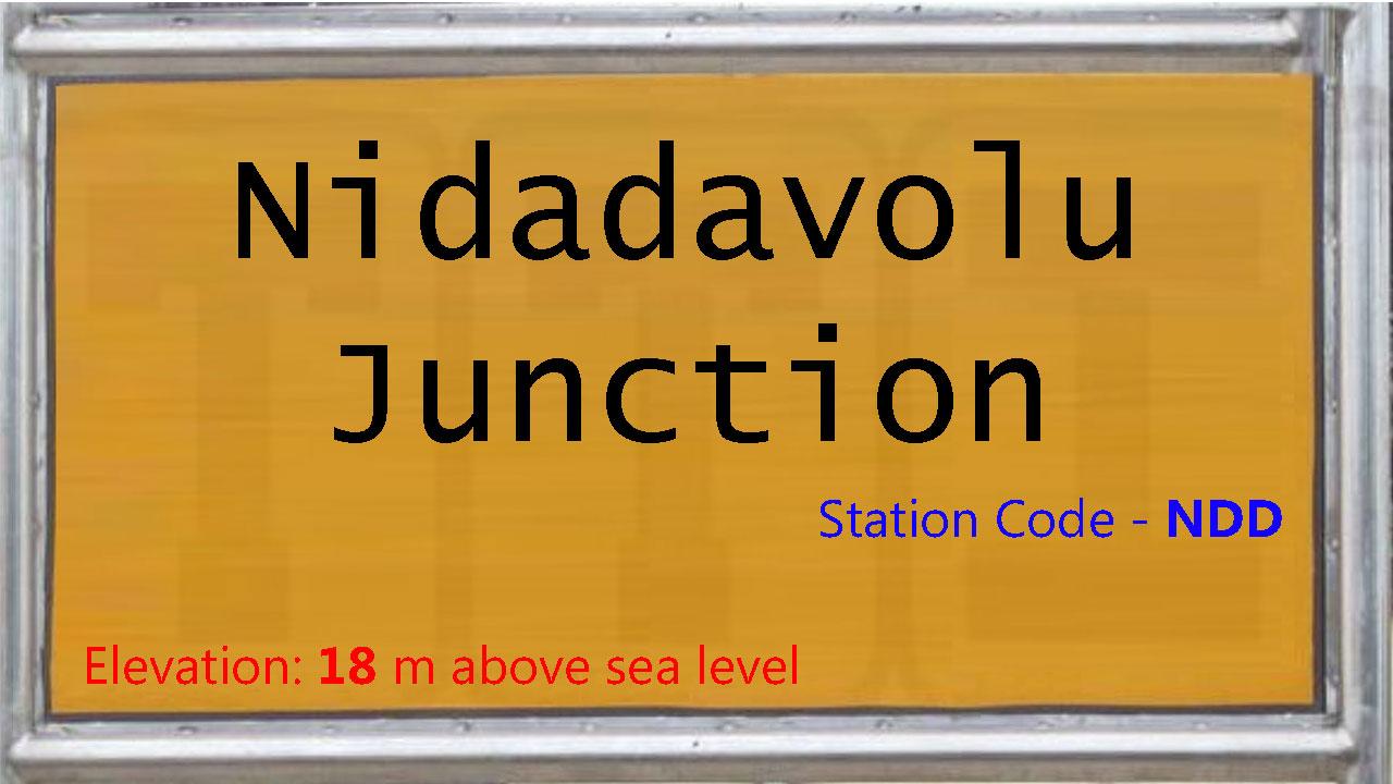 Nidadavolu Junction