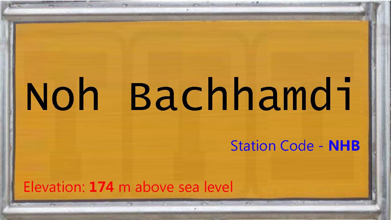 Noh Bachhamdi