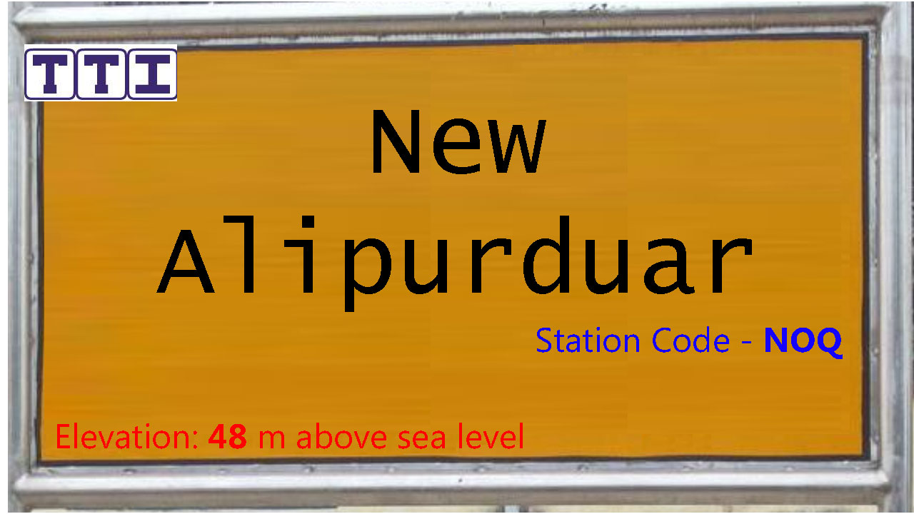 New Alipurduar