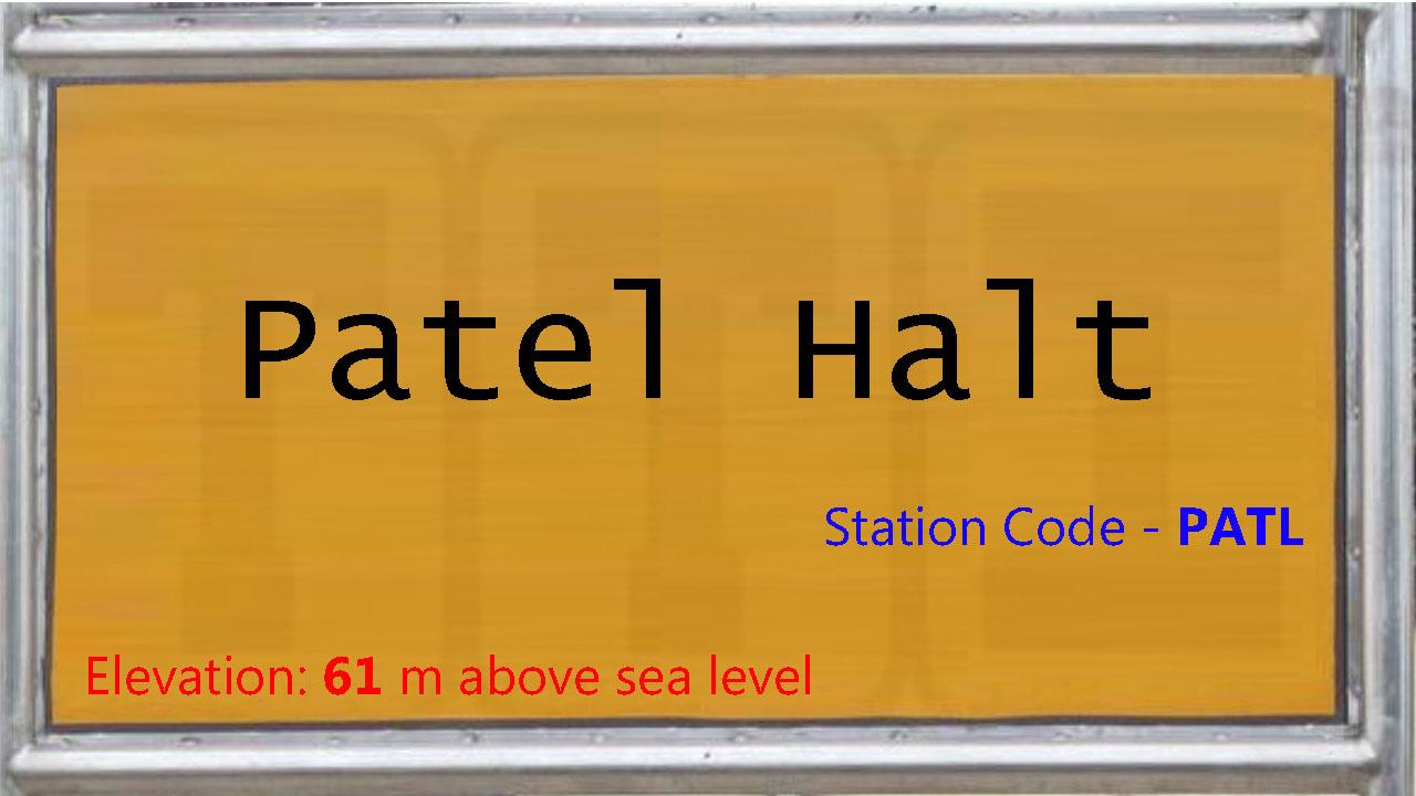 Patel Halt