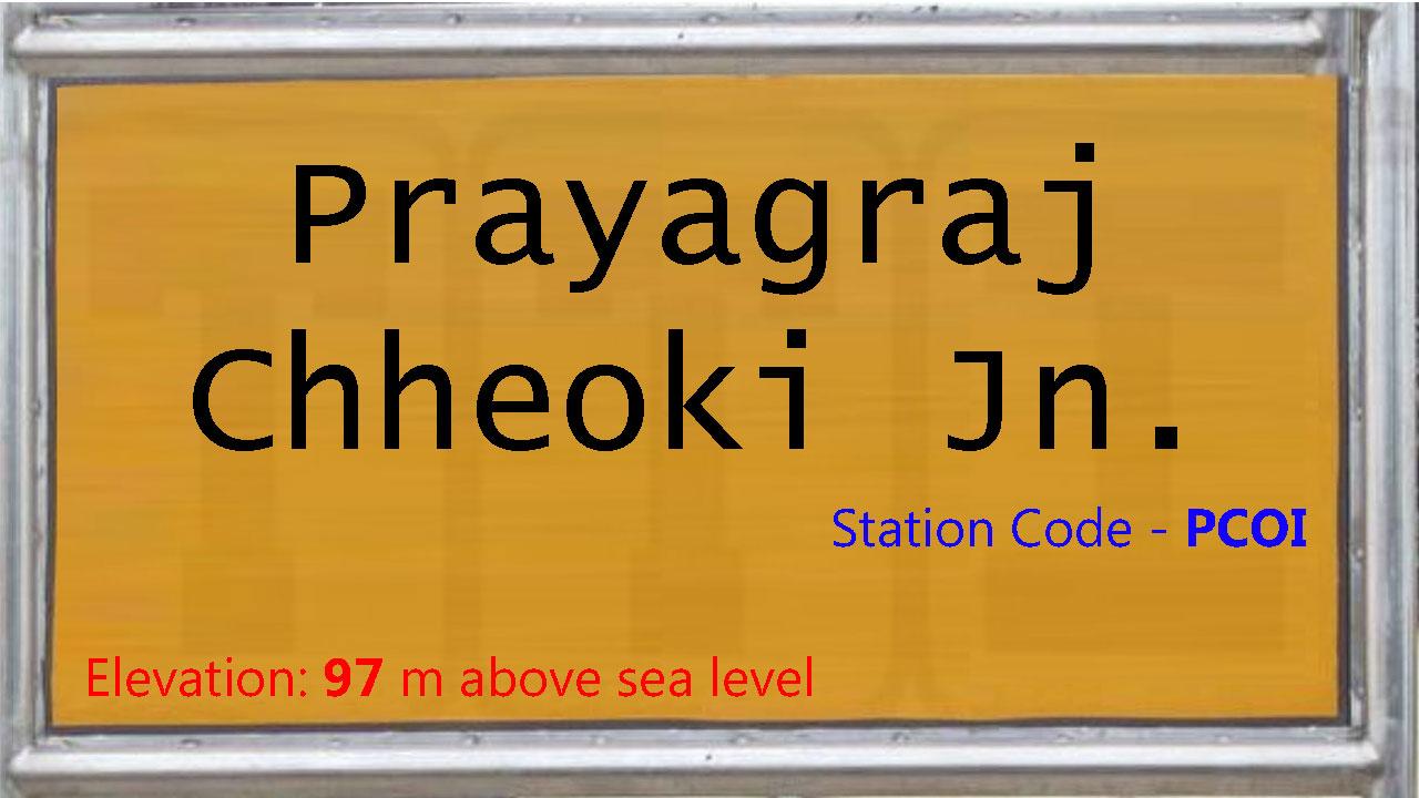 Prayagraj Chheoki Junction
