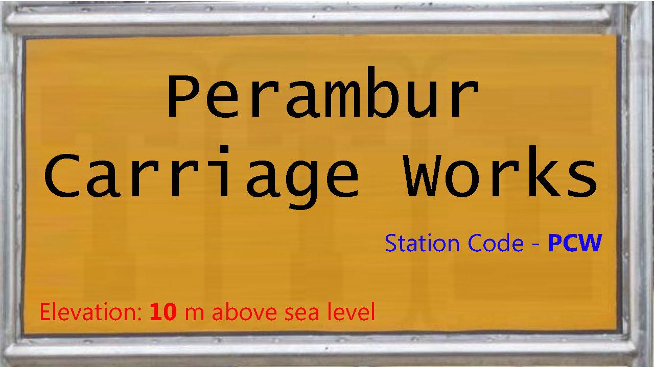 Perambur Carriage Works