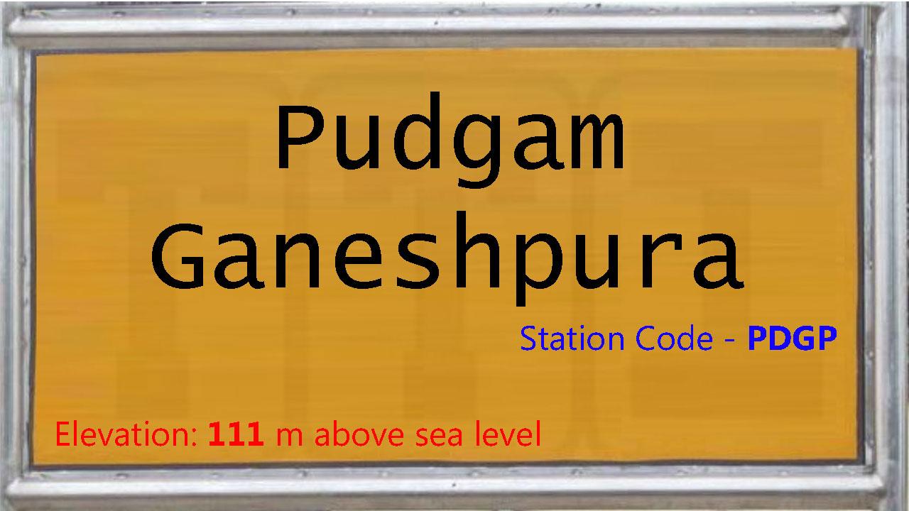 Pudgam Ganeshpura