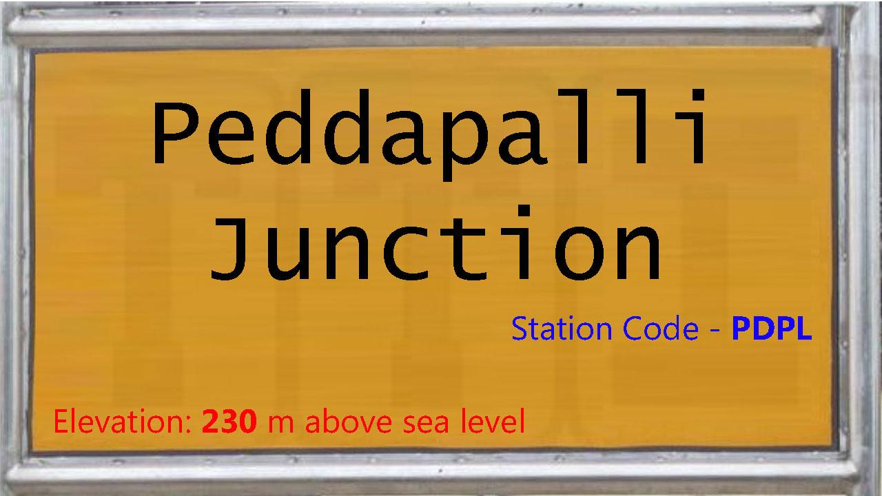 Peddapalli Junction
